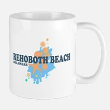 Rehoboth Beach DE - Seashells Design Mug