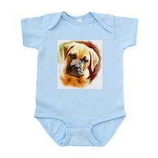 Mastiff puppy portrait Infant Bodysuit