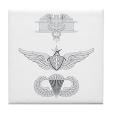 EFMB Flight Surgeon Senior Airborne Tile Coaster