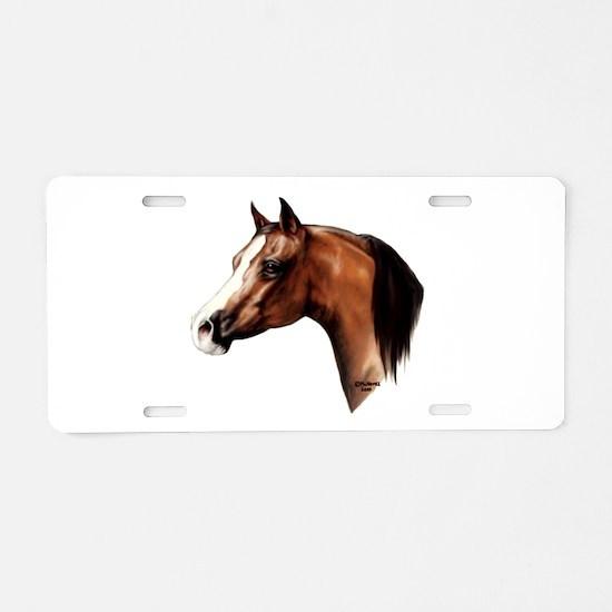 Arabian Horse Aluminum License Plate