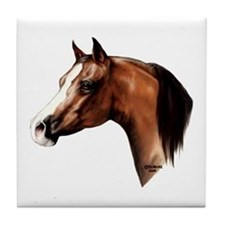 Arabian Horse Tile Coaster