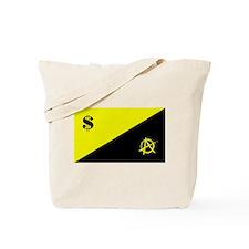 Anarcho-Capitalist Flag Tote Bag