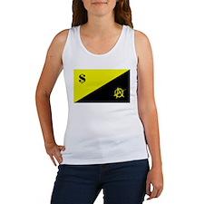 Anarcho-Capitalist Flag Women's Tank Top