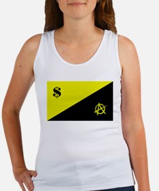 Anarcho-Capitalist Flag Women's Tank Top