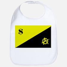 Anarcho-Capitalist Flag Bib