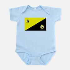 Anarcho-Capitalist Flag Infant Bodysuit