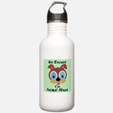Cute Animal abuse Water Bottle
