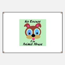 Cute Animal abuse Banner