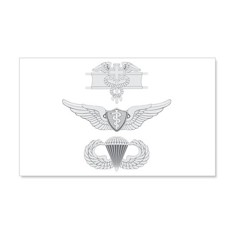 EFMB Flight Surgeon Airborne 20x12 Wall Decal