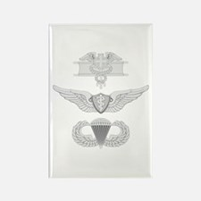 EFMB Flight Surgeon Airborne Rectangle Magnet