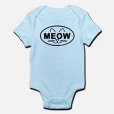 Meow Oval Infant Bodysuit