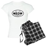 Meow Oval Women's Light Pajamas