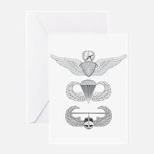 Master Aviation Airborne Air Assault Greeting Card