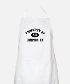 Property of Compton BBQ Apron