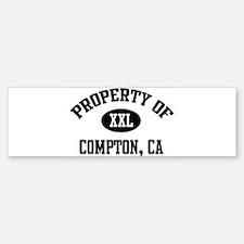 Property of Compton Bumper Bumper Bumper Sticker