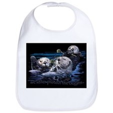 Cool Sea otter Bib