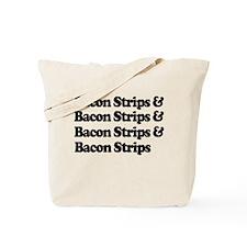 Bacon Strips Tote Bag