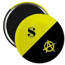 Anarcho-Capitalist Flag Magnet