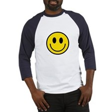 70's Smiley Face Baseball Jersey