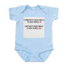 Communists vs. Capitalists Infant Creeper