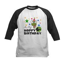 Hoppy Frogs 6th Birthday Tee