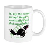 Border collie agility Coffee Mugs