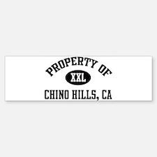Property of Chino Hills Bumper Bumper Bumper Sticker
