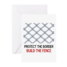Protect Our Border Greeting Cards (Pk of 10)