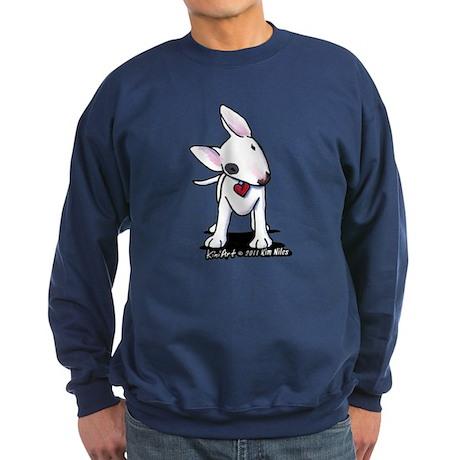 Bull Terrier Spot Sweatshirt (dark)