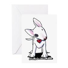 Bull Terrier Spot Greeting Cards (Pk of 10)