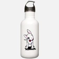Bull Terrier Spot Water Bottle