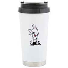 Bull Terrier Spot Travel Mug