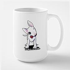 Bull Terrier Spot Large Mug