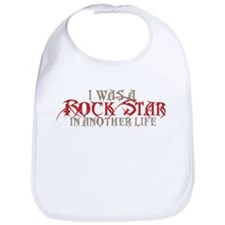 I Was A Rock Star Bib