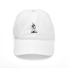 Masked Bull Terrier II Baseball Cap