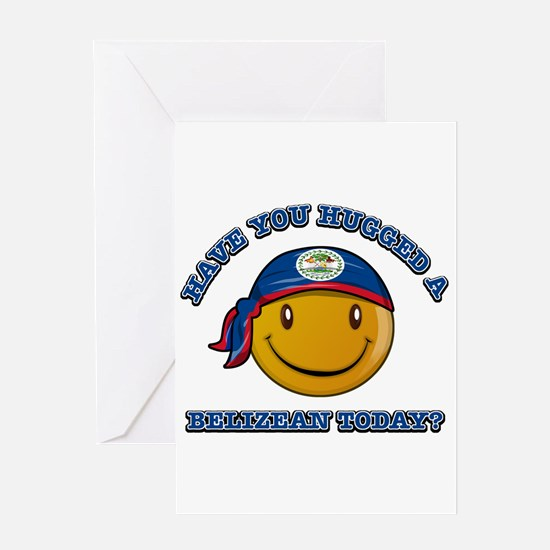 Have you hugged a Belizean today? Greeting Card