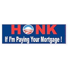 Mortgage crisis Bumper Bumper Sticker