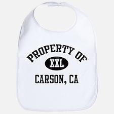 Property of Carson Bib