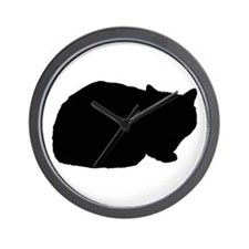 Exotic Shorthair Wall Clock