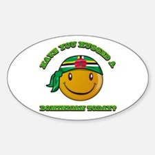 Have you hugged a Dominican today? Decal