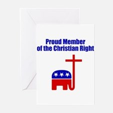 Religious Right Greeting Cards (Pk of 10)