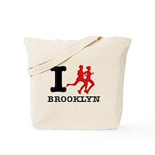 I run brooklyn Tote Bag
