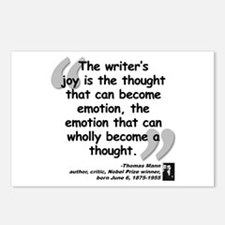 Mann Emotion Quote Postcards (Package of 8)