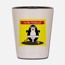 Sumo Penguin Shot Glass