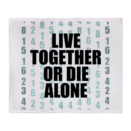 LOST Live Together Throw Blanket