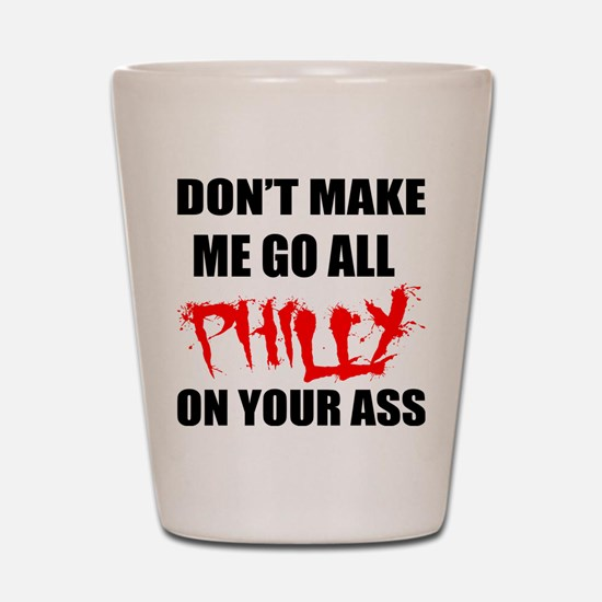 All Philly Shot Glass