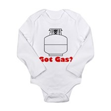Got Gas? Grilling Long Sleeve Infant Bodysuit