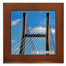 Burlington Bridge Framed Tile
