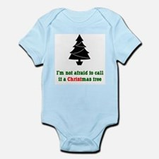 Christmas Tree Infant Creeper