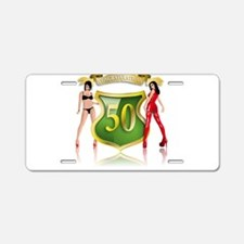 Funny Sexy 40 Aluminum License Plate